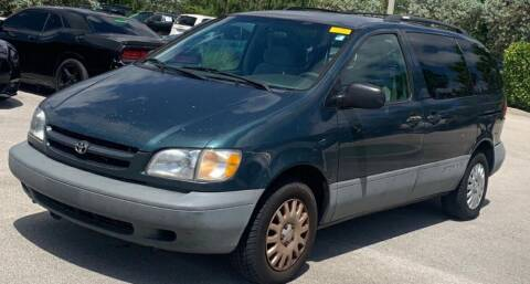 1998 Toyota Sienna for sale at Cobalt Cars in Atlanta GA