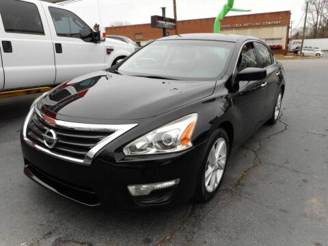 2013 Nissan Altima for sale at Super Sports & Imports in Jonesville NC
