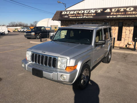 2010 Jeep Commander for sale at Discount Auto Sales in Wichita KS