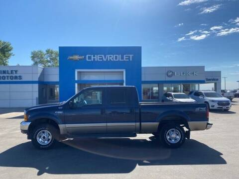 2001 Ford F-250 Super Duty for sale at Finley Motors in Finley ND