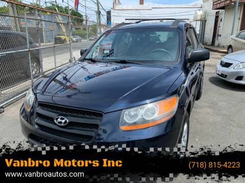 2009 Hyundai Santa Fe for sale at Vanbro Motors Inc in Staten Island NY