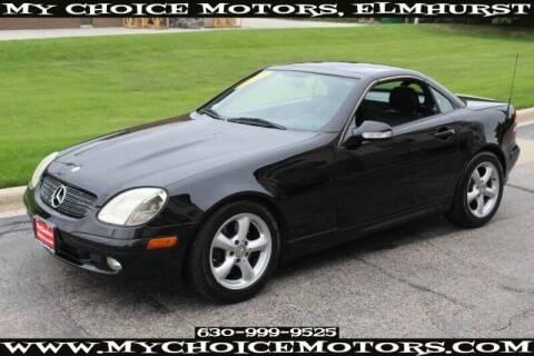 2003 Mercedes-Benz SLK for sale at My Choice Motors Elmhurst in Elmhurst IL