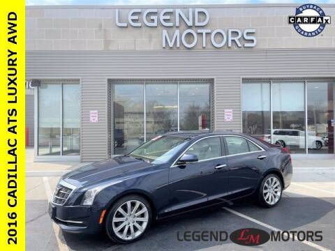 2016 Cadillac ATS for sale at Legend Motors of Waterford in Waterford MI