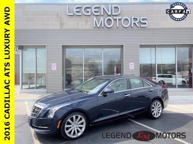 2016 Cadillac ATS for sale at Legend Motors of Detroit - Legend Motors of Waterford in Waterford MI