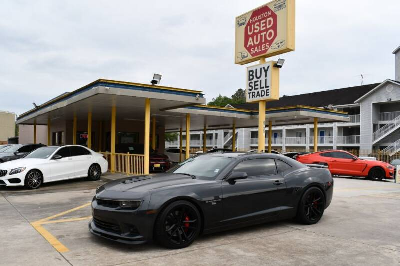 2014 Chevrolet Camaro for sale at Houston Used Auto Sales in Houston TX