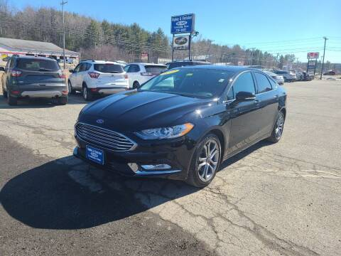 2017 Ford Fusion for sale at Ripley & Fletcher Pre-Owned Sales & Service in Farmington ME