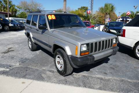 2000 Jeep Cherokee for sale at J Linn Motors in Clearwater FL