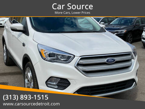 2019 Ford Escape for sale at Car Source in Detroit MI