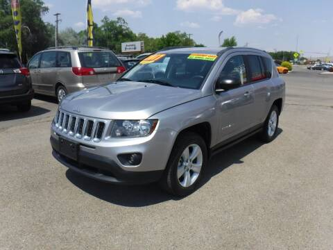 2017 Jeep Compass for sale at Budget Auto Sales in Carson City NV