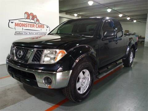 2006 Nissan Frontier for sale at Monster Cars in Pompano Beach FL
