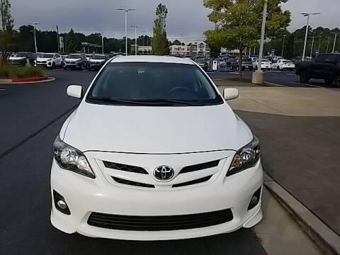 2013 Toyota Corolla for sale at Lou Sobh Kia in Cumming GA