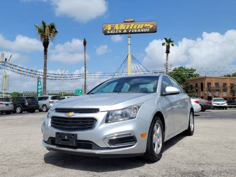 2016 Chevrolet Cruze Limited for sale at A MOTORS SALES AND FINANCE in San Antonio TX