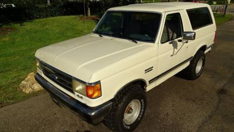 1990 Ford Bronco for sale at Premier Luxury Cars in Oakland Park FL