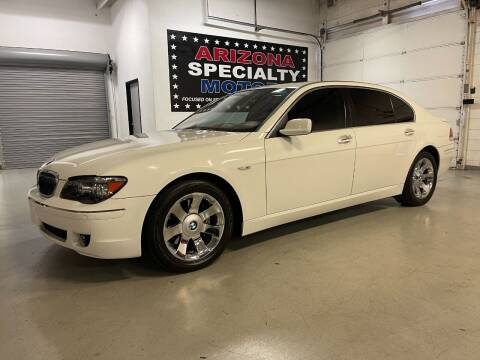 2007 BMW 7 Series for sale at Arizona Specialty Motors in Tempe AZ
