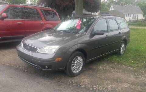 2007 Ford Focus for sale at Antique Motors in Plymouth IN
