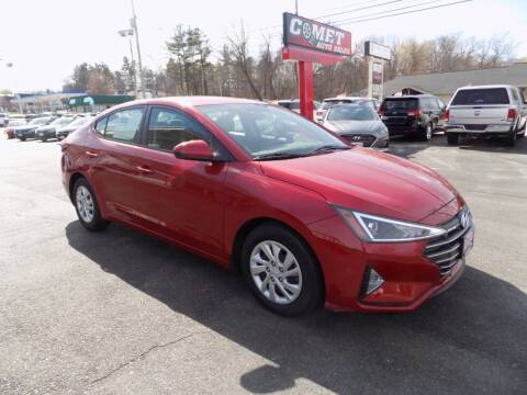 2019 Hyundai Elantra for sale at Comet Auto Sales in Manchester NH