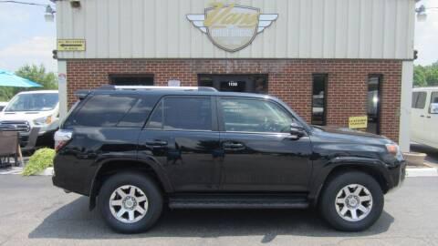 2015 Toyota 4Runner for sale at Vans Of Great Bridge in Chesapeake VA