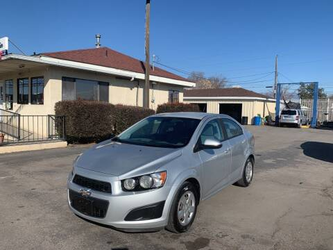2013 Chevrolet Sonic for sale at Robert B Gibson Auto Sales INC in Albuquerque NM