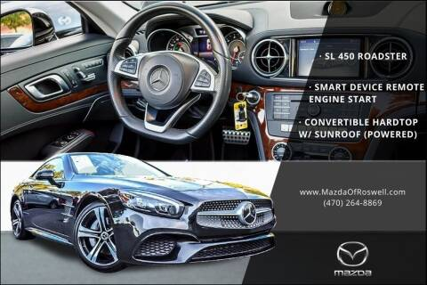 2018 Mercedes-Benz SL-Class for sale at Mazda Of Roswell in Roswell GA