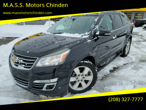 2013 Chevrolet Traverse for sale at M.A.S.S. Motors Chinden in Garden City ID