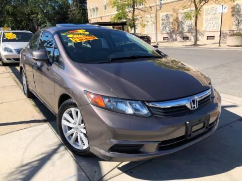 2012 Honda Civic for sale at Jeff Auto Sales INC in Chicago IL