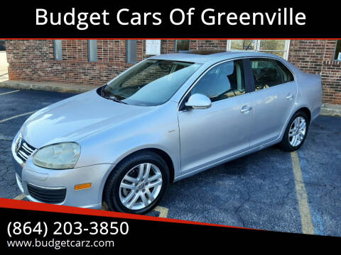 2007 Volkswagen Jetta for sale at Budget Cars Of Greenville in Greenville SC