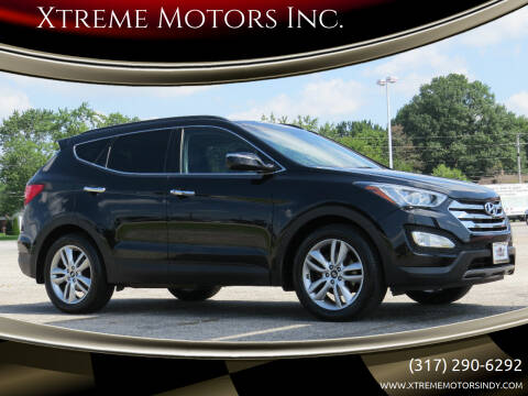2015 Hyundai Santa Fe Sport for sale at Xtreme Motors Inc. in Indianapolis IN
