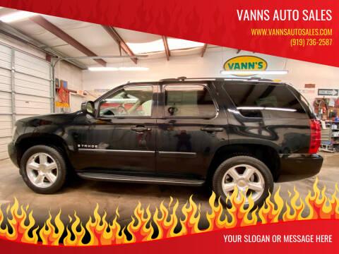 Chevrolet Tahoe For Sale In Goldsboro Nc Vanns Auto Sales