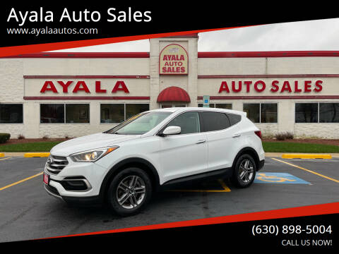 2017 Hyundai Santa Fe Sport for sale at Ayala Auto Sales in Aurora IL