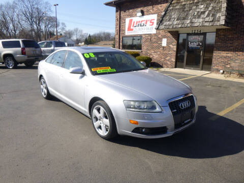 2008 Audi A6 for sale at Luigi's Automotive Collision Repair & Sales in Kenosha WI