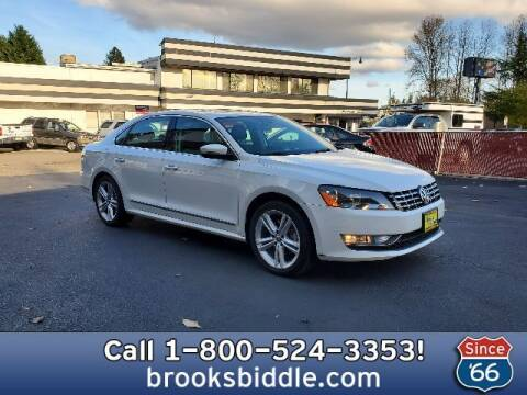 2014 Volkswagen Passat for sale at BROOKS BIDDLE AUTOMOTIVE in Bothell WA