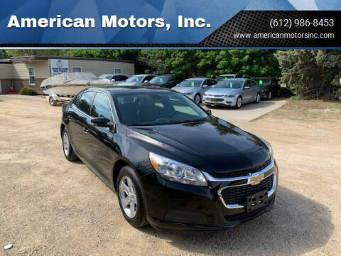 2016 Chevrolet Malibu Limited for sale at American Motors, Inc. in Farmington MN