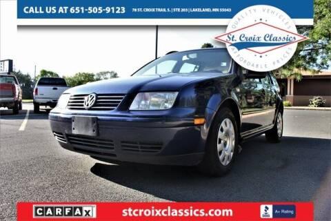 2004 Volkswagen Jetta for sale at St. Croix Classics in Lakeland MN