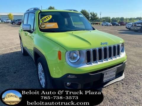 2017 Jeep Renegade for sale at BELOIT AUTO & TRUCK PLAZA INC in Beloit KS