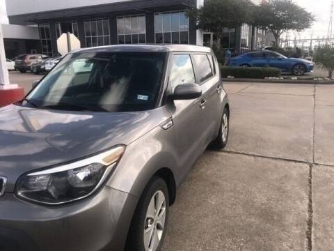 2016 Kia Soul for sale at FREDY KIA USED CARS in Houston TX
