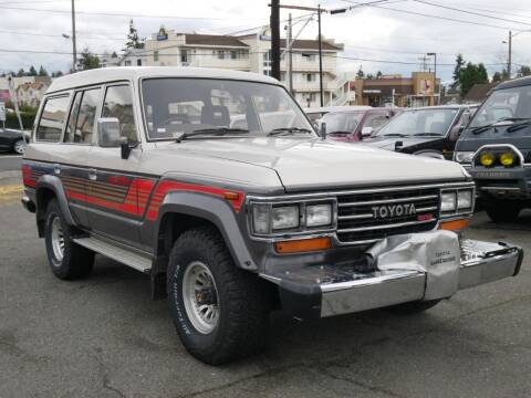 1988 Toyota Land Cruiser 61 for sale at JDM Car & Motorcycle LLC in Seattle WA