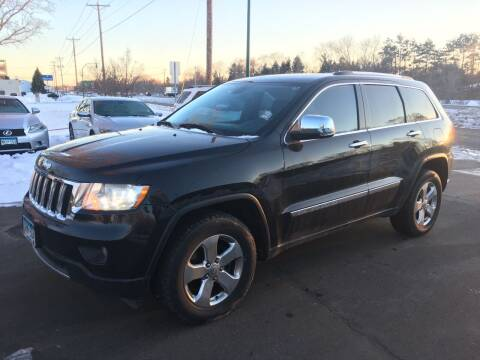 2013 Jeep Grand Cherokee for sale at Premier Motors LLC in Crystal MN