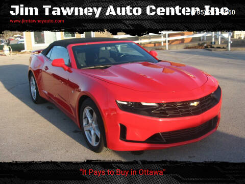 2020 Chevrolet Camaro for sale at Jim Tawney Auto Center Inc in Ottawa KS