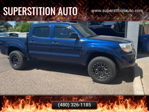 2007 Toyota Tacoma for sale at Superstition Auto in Mesa AZ
