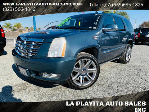 2008 Cadillac Escalade for sale at LA PLAYITA AUTO SALES INC - Tulare Lot in Tulare CA