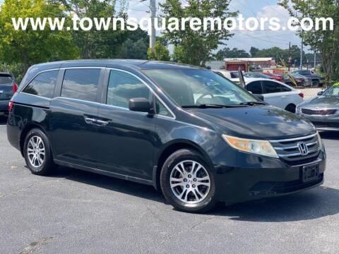 2013 Honda Odyssey for sale at Town Square Motors in Lawrenceville GA