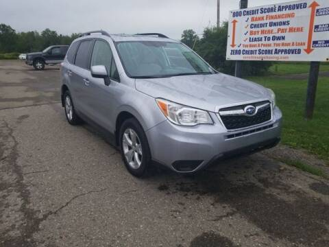 2014 Subaru Forester for sale at Sensible Sales & Leasing in Fredonia NY