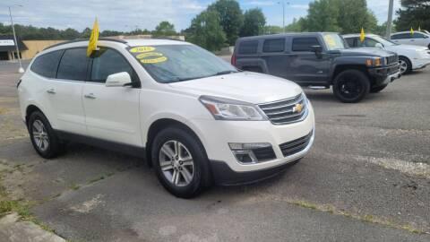 2015 Chevrolet Traverse for sale at CarsPlus in Scottsboro AL