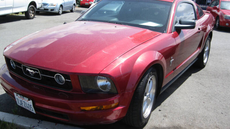 2007 Ford Mustang for sale at CABO MOTORS in Chula Vista CA