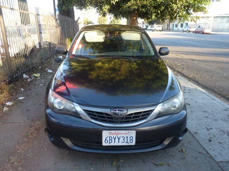 2008 Subaru Impreza for sale at Oceansky Auto in Los Angeles CA