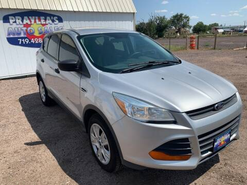 2015 Ford Escape for sale at Praylea's Auto Sales in Peyton CO
