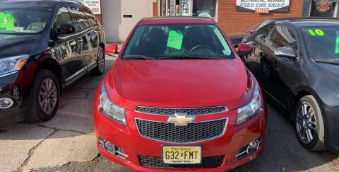 2014 Chevrolet Cruze for sale at Frank's Garage in Linden NJ
