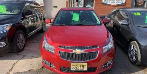 2014 Chevrolet Cruze for sale at Frank's Garage in Linden NJ