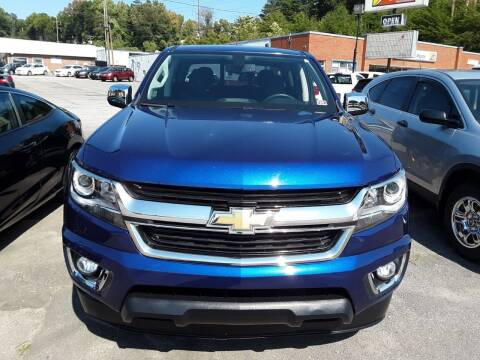 2017 Chevrolet Colorado for sale at Auto Villa in Danville VA