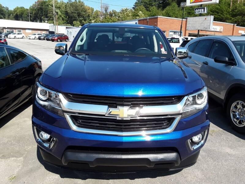 2017 Chevrolet Colorado for sale at Auto Villa in Danville VA